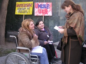 Women on the street in Armenia. Photo Credit: USAID/Armenia