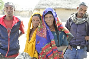 These women and men in Debeso now have secure property rights through a USAID land certificate project. Photo Credit: Gregory Myers, USAID
