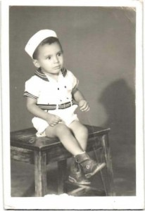 Ariel Pablos-Méndez as a small child. Photo: USAID