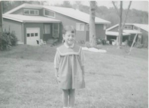 Caryl M. Stern, President & Chief Executive Officer, U.S. Fund for UNICEF, at age 5. Photo Credit: UNICEF
