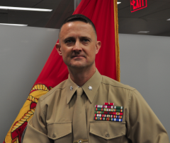 Lieutenant Colonel Lee Suttee, Marine Corps Fellow to USAID