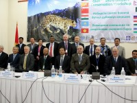 Officials from 12 countries attended a three-day conference on the snow leopard in Bishkek, Kyrgyzstan on December 1-3, 2012. Photo Credit: USAID