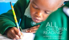 USAID, World Vision, AusAID, and the U.S. Department of Education are leading the charge in finding early grade reading solutions. Photo Credit: Derek Brown.