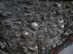 Mass grave in Guba, Azerbaijan - alleged victims of mass killings of Azerbaijani, Jewish, Lezgi by Bolsheviks in March 1918. Photo Credit: Jonathan Hale.