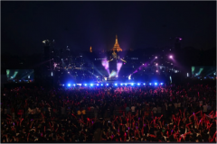 MTV Exit's anti-slavery concert in Myanmar attracted more than 50,000 people. Photo Credit: MTV Exit / U.S. State Dept.
