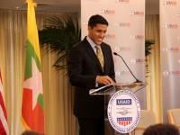 Administrator Shah addresses ...... Photo Credit: Pat Adams, USAID.