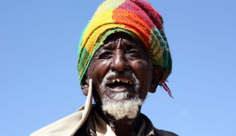 A beneficiary of the USAID-supported Productive Safety Net Program living near the Mai-Aqui site, in Tigray, Ethiopia