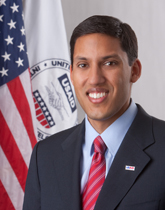 Rajiv Shah serves as Administrator at USAID