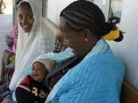 Between 1990-2011 child mortality has decreased 39% in sub-Saharan Africa. Photo credit: Mom Bloggers for Social Good