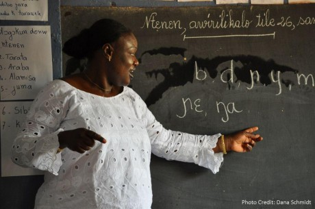 Mali Teacher Mother Language Day