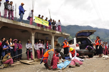 Disaster relief in Guatemala