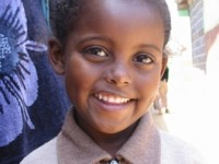 A thriving Ethiopian child. Photo credit: Nazo Kureshy
