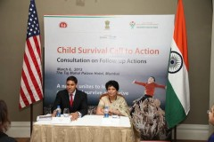 India and U.S Recommit to Ending Preventable Child Deaths in India.  Photo Credit: USAID/India