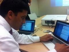 Raj at Twitter chat