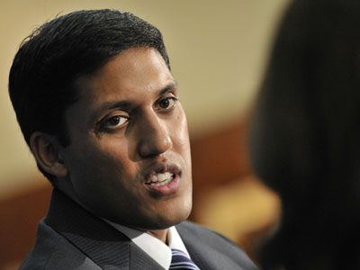 USAID Administrator Rajiv Shah. Photo by: Center for Strategic and International Studies / CC BY-NC-SA