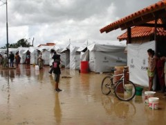 USAID responds to more floods than any other type of natural disaster, like this one in Trinidad, Bolivia in 2003. Photo credit: USAID