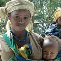 Mother in Ethiopia. Photo Credit: Jhpiego