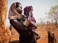 A woman and her baby. Photo Credit: Adriane Ohanesian