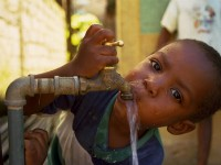 Access to safe & clean water saves lives & is vital to a productive future for every man, woman, & child. Photo Credit: USAID