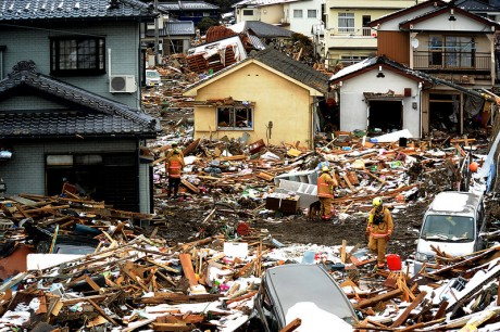 Direct economic losses from disasters during this century—including the 2011 Japan earthquake and tsunami —are estimated at $2.5 trillion. Photo credit: Master Sgt. Jeremy Lock/U.S. Air Force