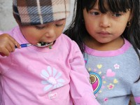 Young girls in Honduras. Photo Credit: USUN Rome