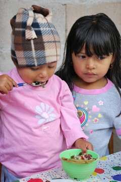 Young girls in Honduras. Photo Credit: USUN Rome