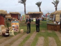 President Obama delivers remarks during a visit to the Feed the Future Agricultural Technologies Marketplace in Senegal. Photo credit: Kate Gage, USAID