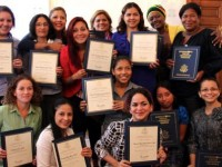 """Mujeres Adelante"" participants. Photo credit: State Department"