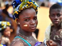 Ghana woman at USAID health event. Photo credit: USAID