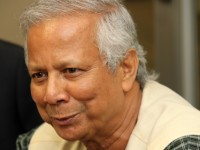 Dr. Yunus while visiting USAID. Photo Credit: USAID
