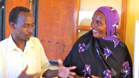 Zahra Daher and Hussein Houmed, founders of the PK-12 SafeTStop. Photo credit: Carole Douglis, USAID/East Africa