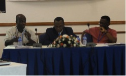Panel discussion with representatives from Ghana, Benin and Cote d'Ivoire. Photo credit: Adiza Ama Owusu