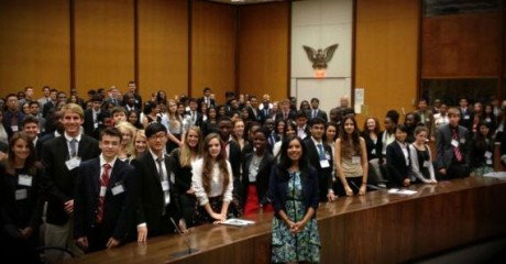 Special Adviser Rahman at the Global Young Leaders Conference. Photo credit: State Department