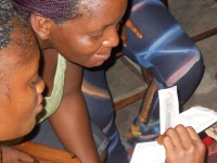 The HealthyActions program in Liberia, under the Advancing Youth Project and in partnership with EDC delivers an HIV and family planning curriculum in alternative high schools for youth that have left the formal education system. Photo credit: USAID