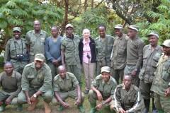 Dr. Jane Goodall in Rwanda. Photo Credit: USAID