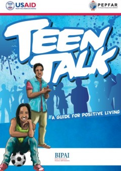 Teen Talk, a new tool from AIDSTAR-One and BIPAI, is a resource for young adults living with HIV. Photo credit: AIDSTAR-One