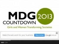 MDG Countdown 2013
