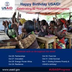 USAIDBirthday_52yrs