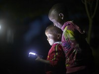 Development Innovation Ventures grantee Off-Grid: Electric's entrepreneurs are lighting up Tanzania through more reliable, affordable, and sustainable electrical services. Photo Credit: Matthieu Young