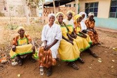 Members of the Huruma Women's Group in Kenya. Photo credit: Photo Credit: Fintrac Inc.