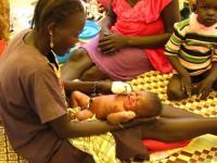 Newborn in South Sudan