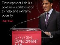 Raj Shah at the Global Development Lab