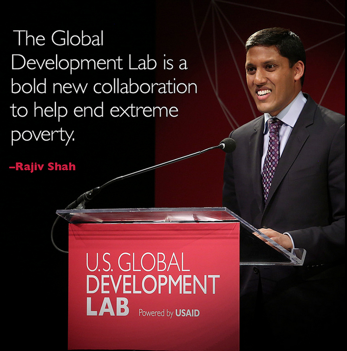 Raj Shah at the Global Development Lab