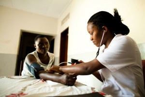 DCA borrower, Dr Elioda Tumwesigye's medical facility