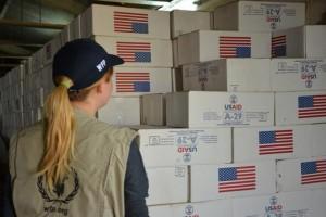 USAID and The World Food Programme providing humanitarian aid to Iraq / USAID