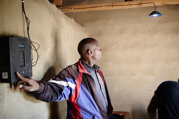 One of the 12,800 Tanzanian homes Off.Grid has connected to energy over the past year