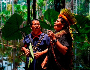 Supported by USAID, the Cofan indigenous people of Ecuador are working to become more united and stronger to continue conserving biodiversity within their territories.