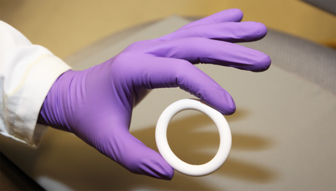 NES/EE vaginal ring. / Julie Sitney