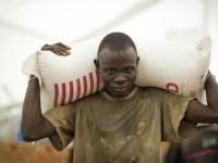 Food distribution in South Sudan. / World Food Program