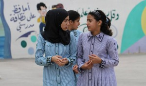 USAID supports girls' education in the West Bank. The Agency built the new Nahalin Secondary Girls' School in the Bethlehem Governorate / Credit Alaa Badarneh